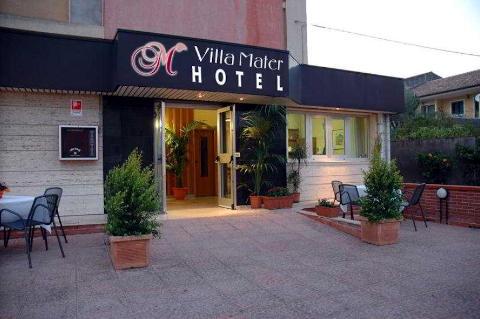 Foto HOTEL VILLA MATER di CATANIA