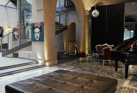 Foto HOTEL BORGHESE PALACE ART  di FIRENZE