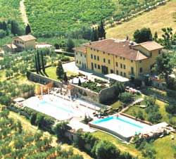 Foto HOTEL VILLA LA PALAGINA di FIGLINE VALDARNO