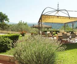 Foto HOTEL ALBERGO VILLA CRISTINA di SPOLETO